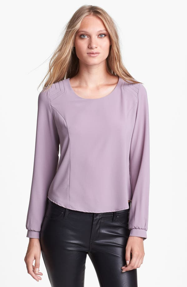 Alternate Image 1 Selected - ASTR Button Back Blouse