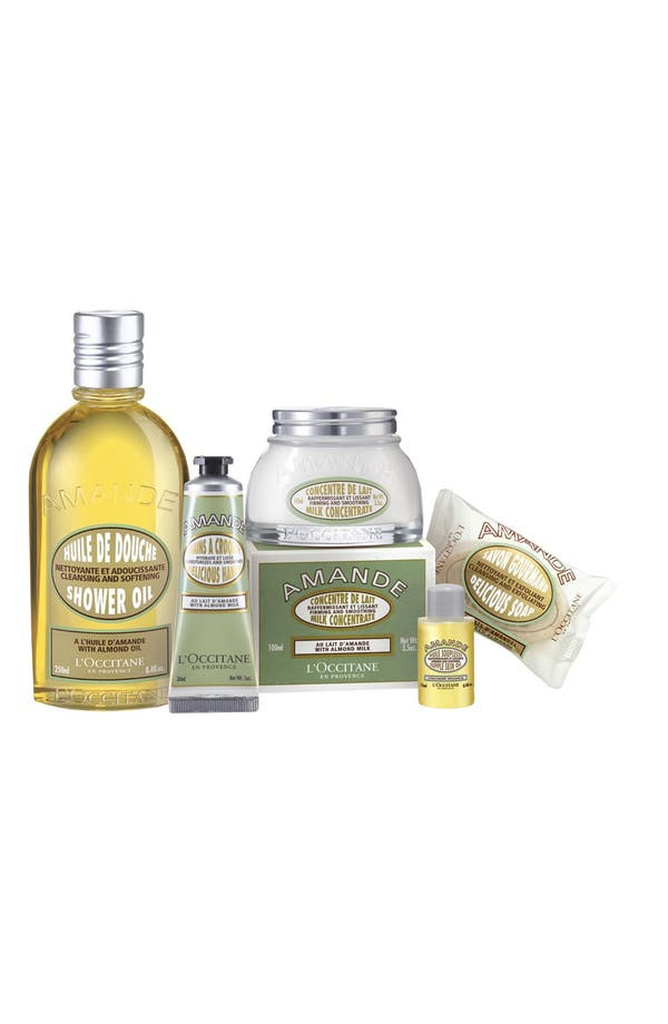 Alternate Image 1 Selected - L'Occitane 'Delicious Almond' Body Care Collection (Limited Edition) ($70 Value)