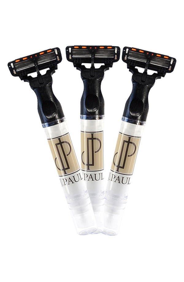 Alternate Image 1 Selected - J. PAUL Skincare Travel Shave Set