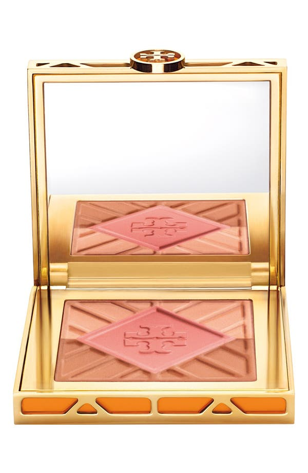 Main Image - Tory Burch 'Divine' Bronzer, Blush & Highlighter Palette