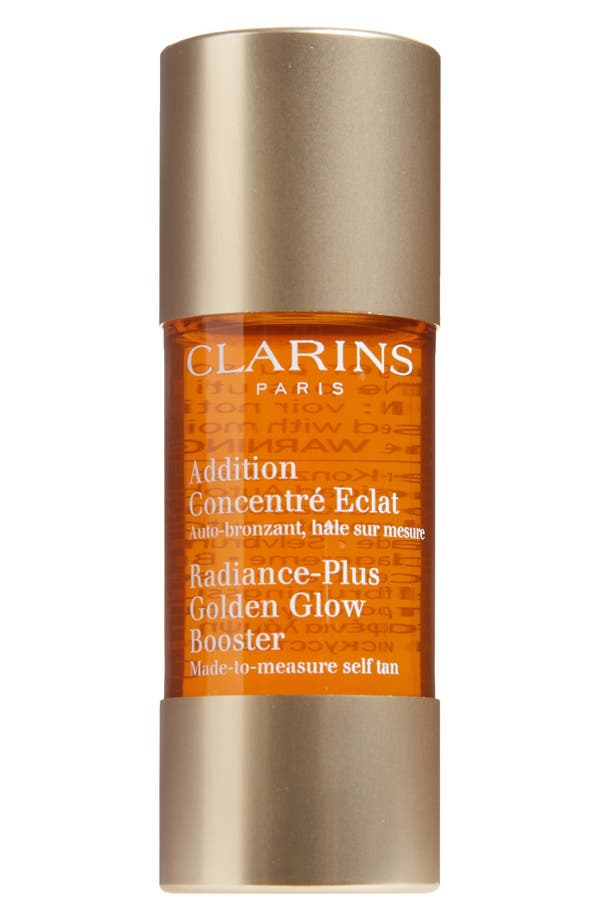 Alternate Image 1 Selected - Clarins Radiance-Plus Golden Glow Booster