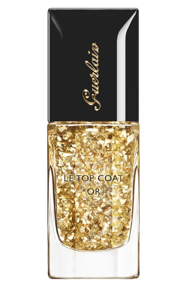 Main Image - Guerlain '901 L'Oiseau de Feu' Gold Leaf Top Coat (Limited Edition)