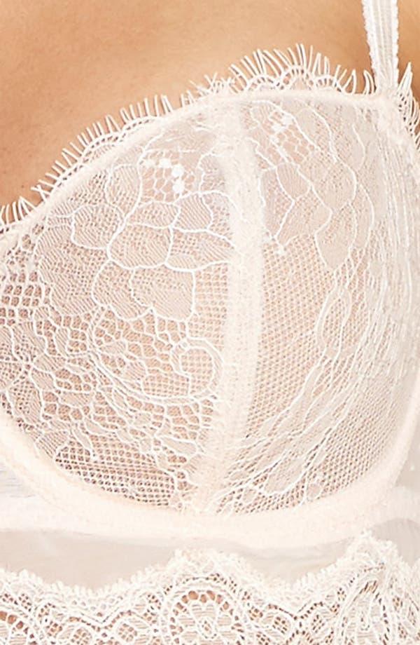 Alternate Image 7  - Passionata by Chantelle Blossom Underwire Bustier Bra