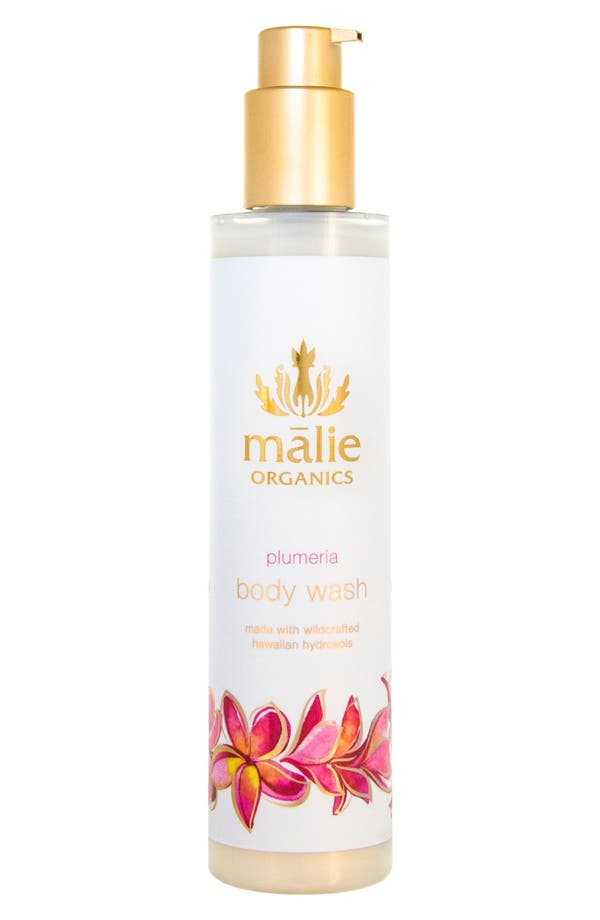 Alternate Image 1 Selected - Malie Organics Plumeria Organic Body Wash