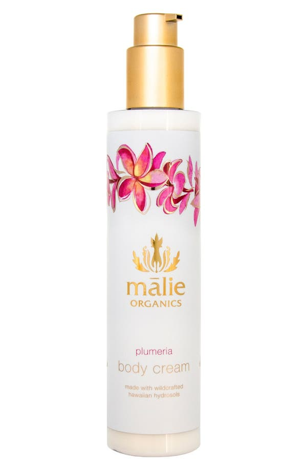 Alternate Image 1 Selected - Malie Organics Plumeria Organic Body Cream