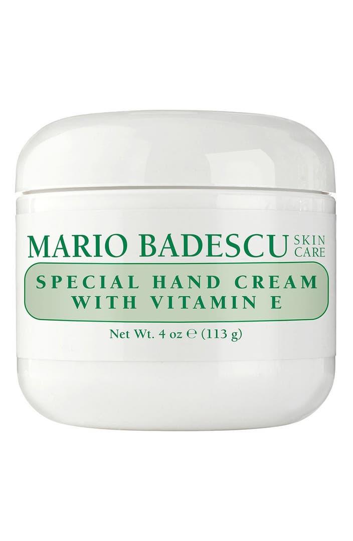 Mario badescu special hand cream with vitamin e nordstrom for E home products
