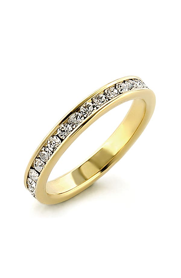 Alternate Image 1 Selected - Ariella Collection Cubic Zirconia Eternity Band Ring