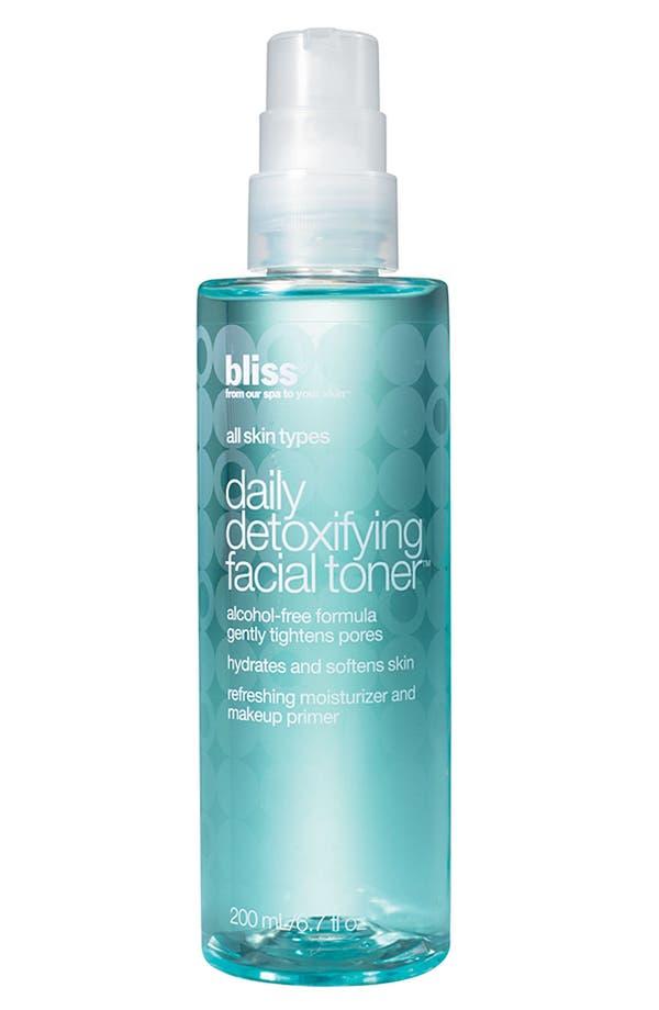 Alternate Image 1 Selected - bliss® Daily Detoxifying Facial Toner
