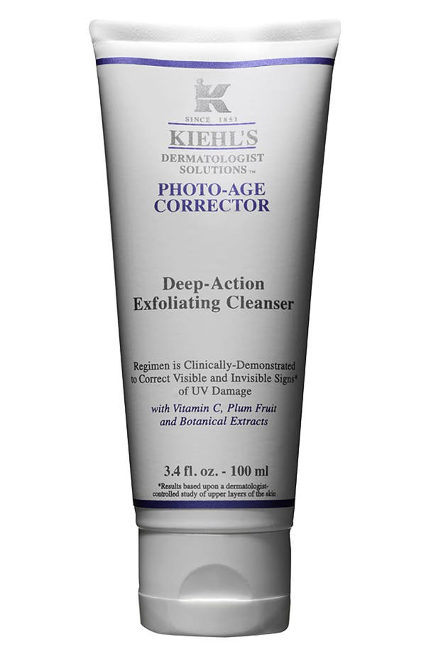 Main Image - Kiehl's Since 1851 'Photo-Age Corrector' Deep-Action Exfoliating Cleanser