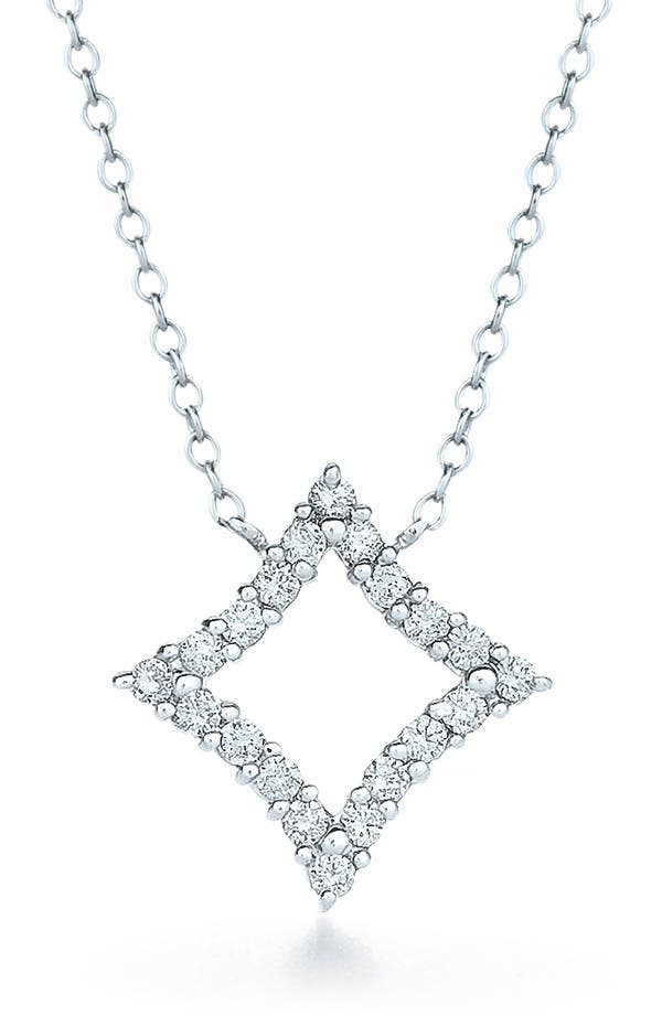 Main Image - Kwiat 'Evergreen' Diamond & White Gold Pendant Necklace