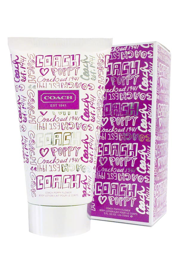 Alternate Image 1 Selected - COACH 'Poppy Flower' Body Lotion