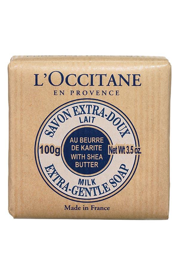 Alternate Image 1 Selected - L'Occitane Milk Shea Soap - Travel Size