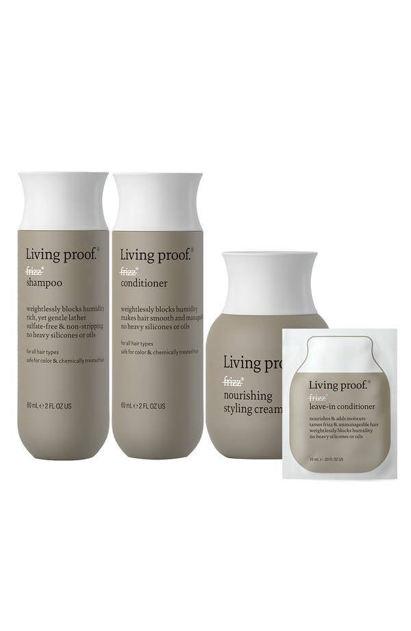 Alternate Image 1 Selected - Living proof® No Frizz Discovery Set ($36 Value)