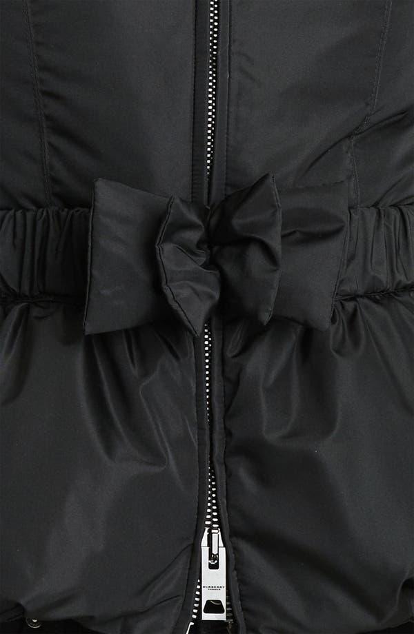 Alternate Image 3  - Burberry Prorsum Puffer Jacket