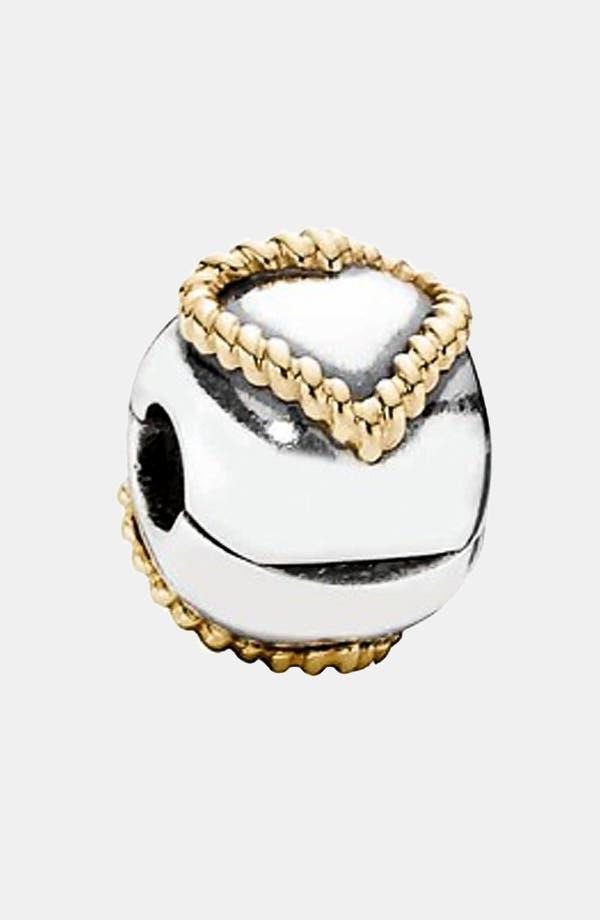 Alternate Image 1 Selected - PANDORA 'Braided Heart' Clip Charm