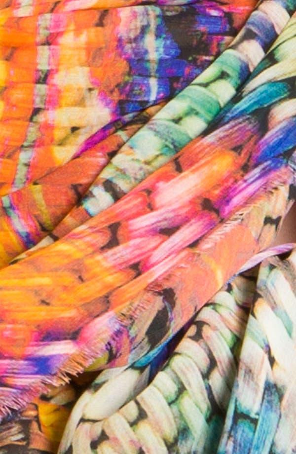 Alternate Image 2  - Halogen® Woven Print Scarf
