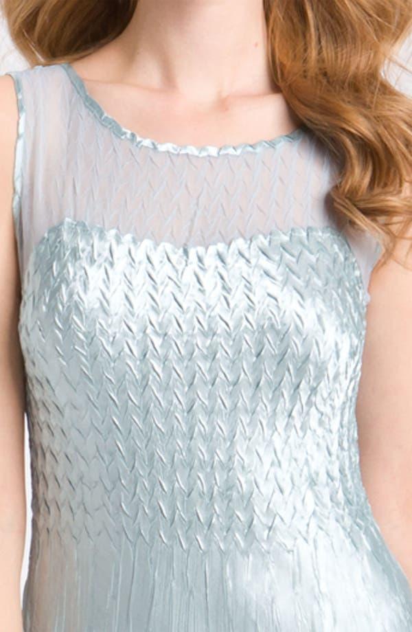 Alternate Image 4  - Komarov Sleeveless Chiffon Dress & Jacket
