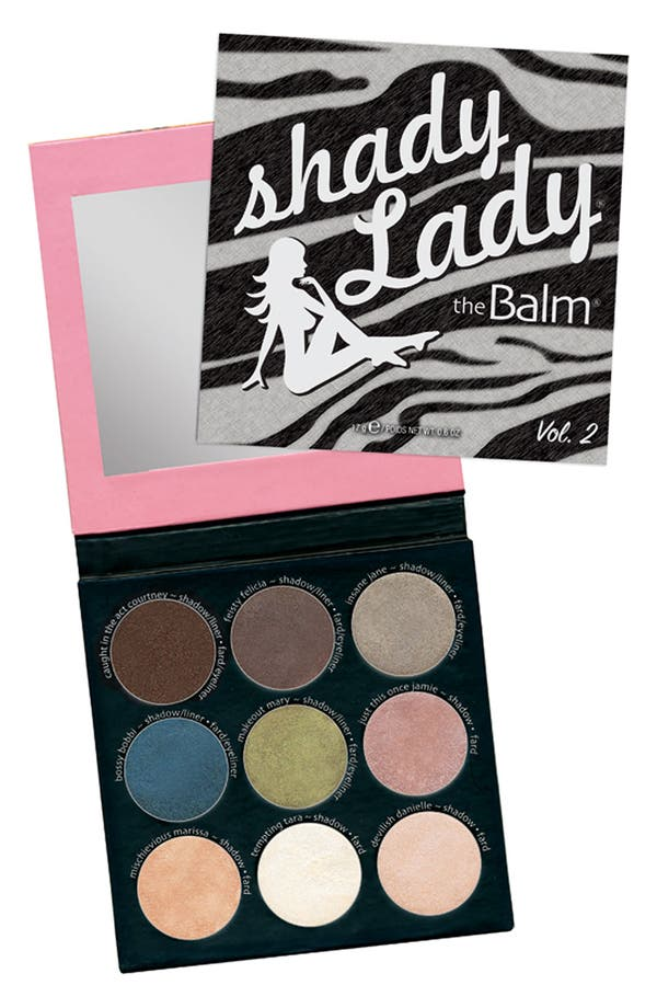 Main Image - theBalm 'shadyLady' Eye Color Palette #2
