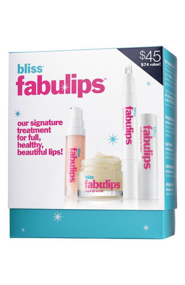 Alternate Image 3  - bliss® 'fabulip' Lip Treatment Kit ($74 Value)
