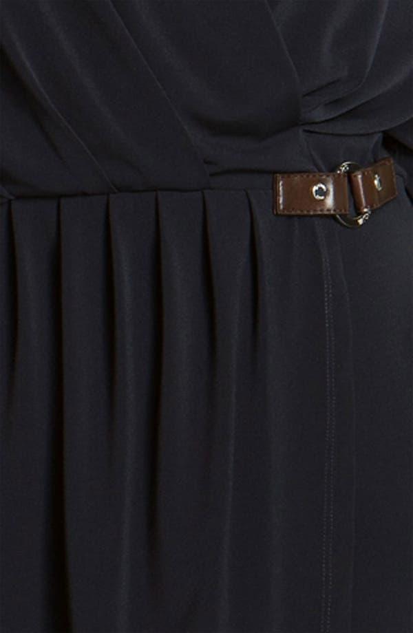 Alternate Image 3  - MICHAEL Michael Kors Surplice Jersey Dress (Plus)