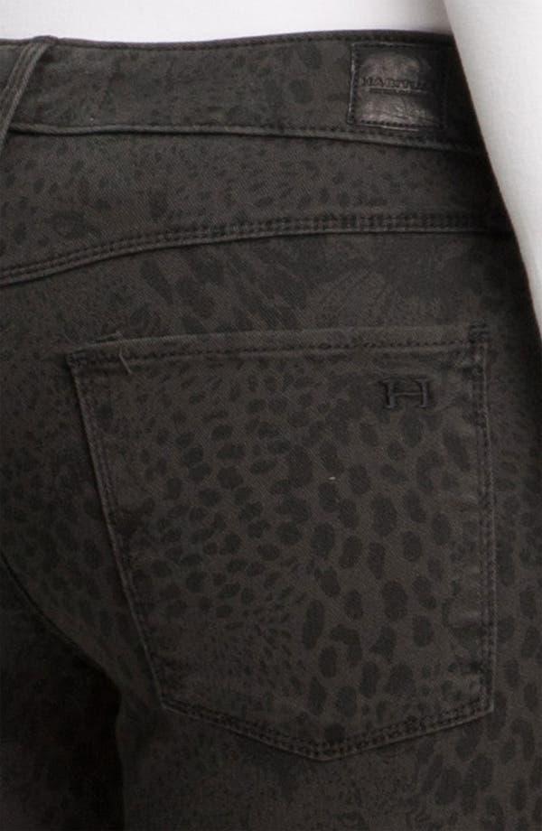 Alternate Image 3  - Habitual 'Almas' Leopard Print Skinny Stretch Jeans