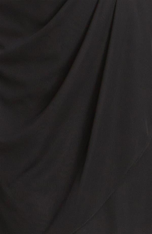 Alternate Image 3  - Xscape Lace Yoke Draped Mesh Dress