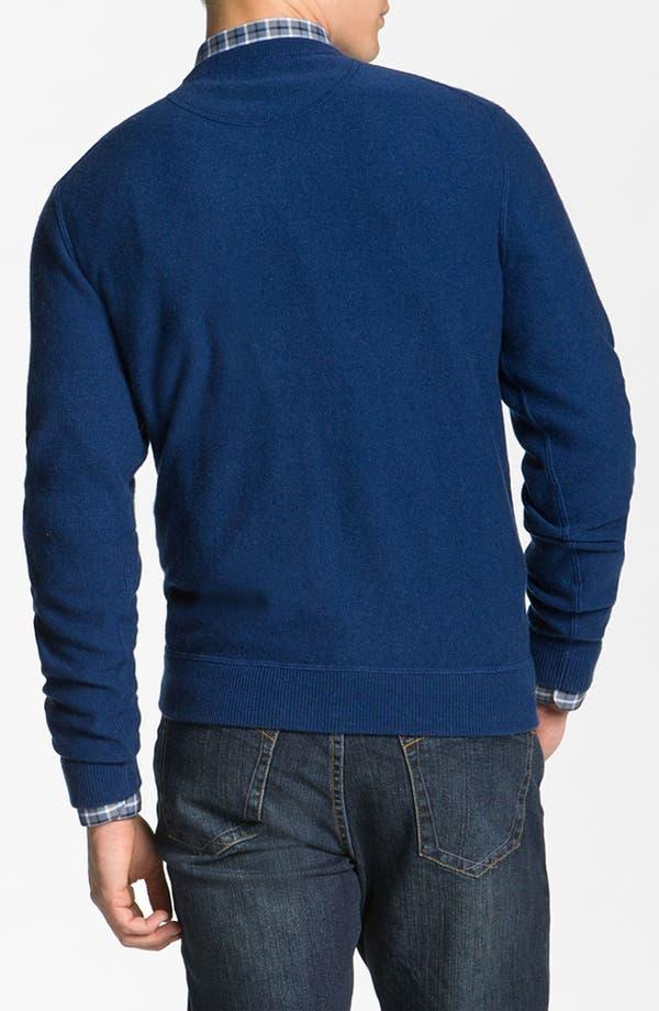Alternate Image 2  - Hickey Freeman Wool & Cashmere Sweatshirt