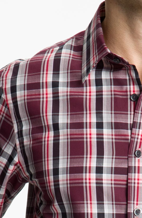 Alternate Image 3  - Michael Kors 'Halden Check' Sport Shirt