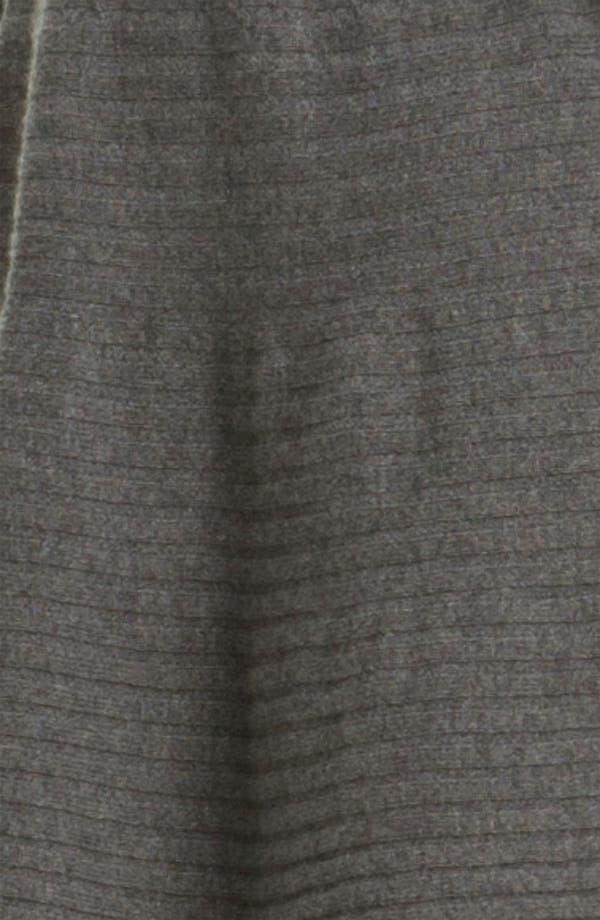 Alternate Image 3  - autumn cashmere Flared Rib Knit Minidress