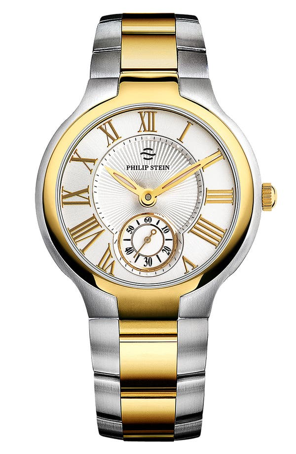 Alternate Image 1 Selected - Philip Stein® Two Tone Customizable Watch