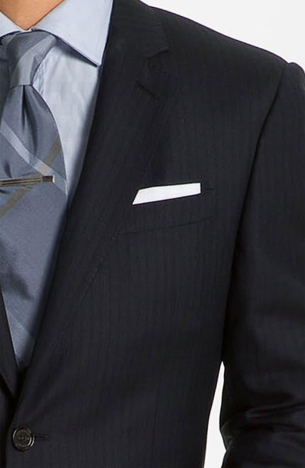 Alternate Image 6  - Burberry London Extra Trim Fit Suit