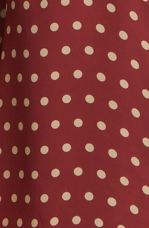 Alternate Image 3  - Sandra Ingrish Polka Dot Sheer Blouse (Plus)