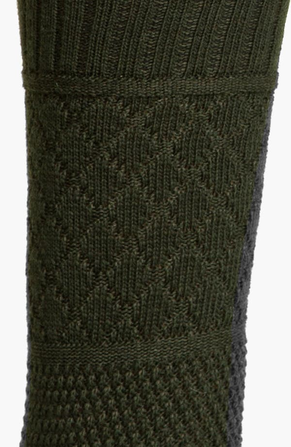 Alternate Image 2  - Smartwool Quilted Cable Socks