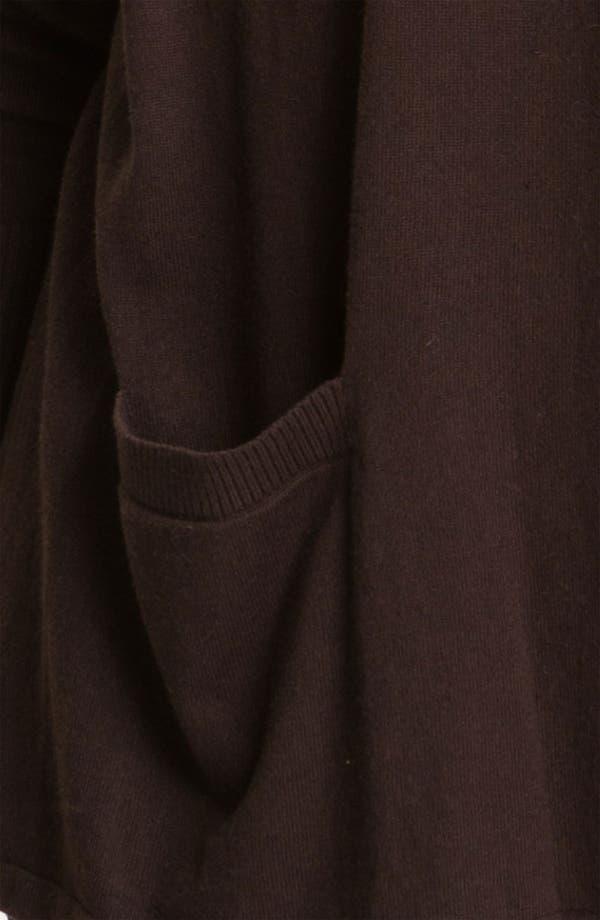 Alternate Image 3  - MICHAEL Michael Kors Drape Front Crop Cardigan (Plus)