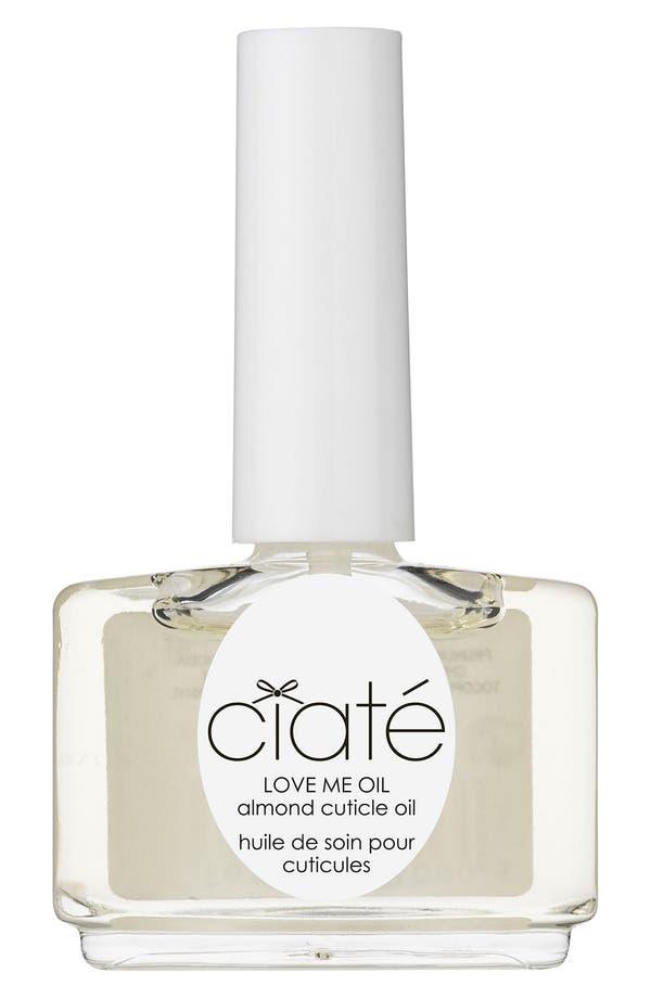 Alternate Image 1 Selected - Ciaté 'Love Me - Almond' Cuticle Oil