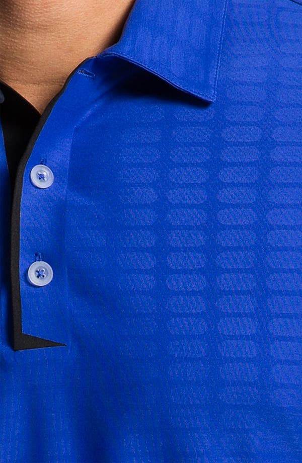 Alternate Image 3  - Nike Golf Bonded Embossed Dri-FIT Polo