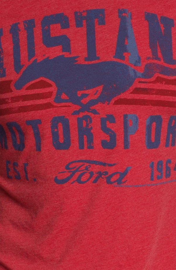 Alternate Image 3  - Free Authority 'Mustang Motor' Graphic T-Shirt
