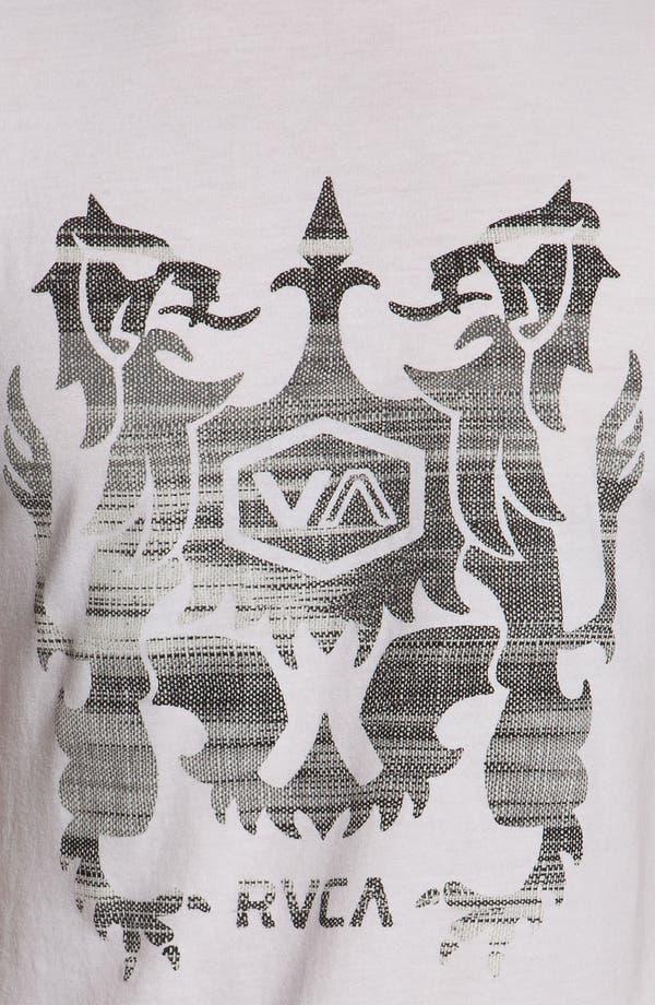Alternate Image 3  - RVCA 'Eecat Crest' T-Shirt