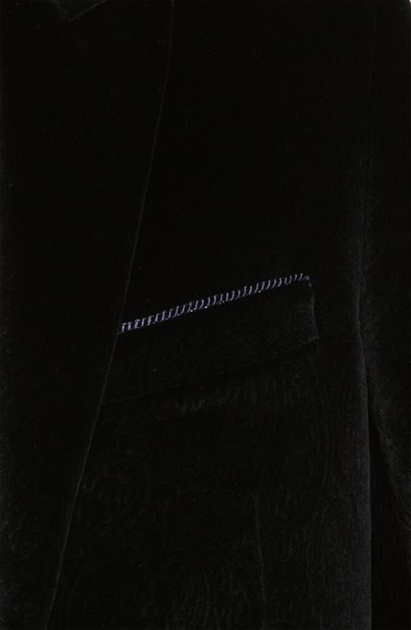 Alternate Image 3  - Robert Graham 'Glacis' Velvet Blazer