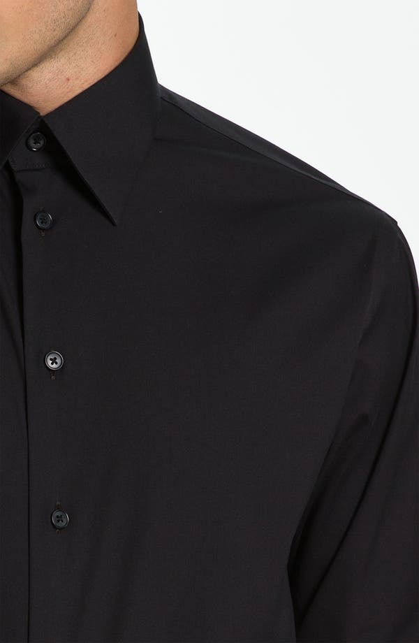 Alternate Image 2  - Armani Collezioni Trim Fit Sport Shirt