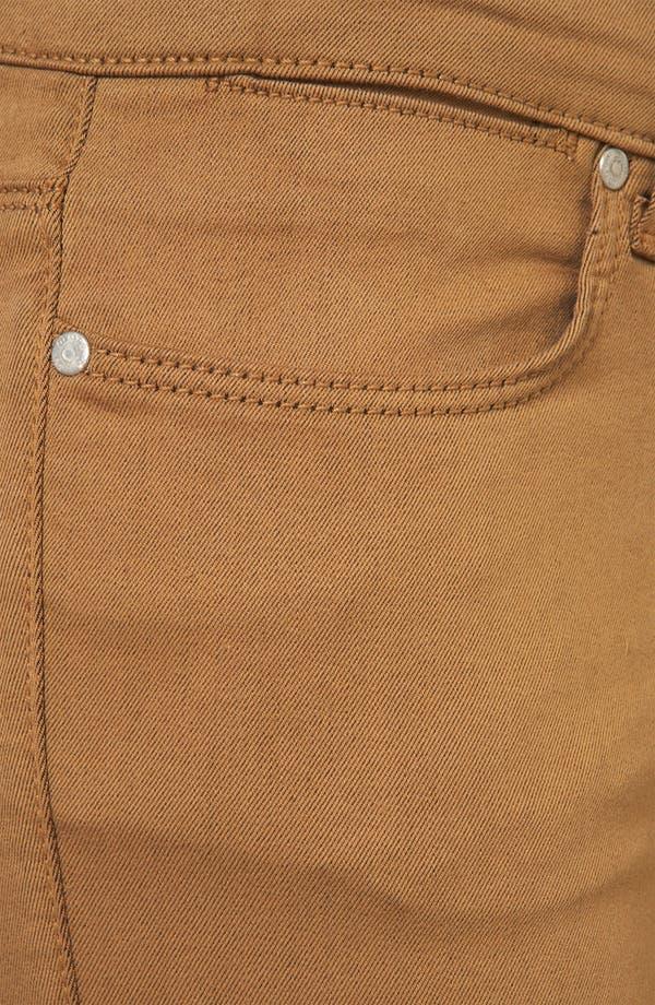 Alternate Image 3  - Topshop Moto 'Leigh' Skinny Jeans (Tobacco)