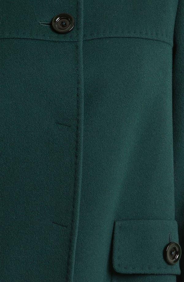 Alternate Image 3  - Cinzia Rocca A-Line Wool Blend Coat