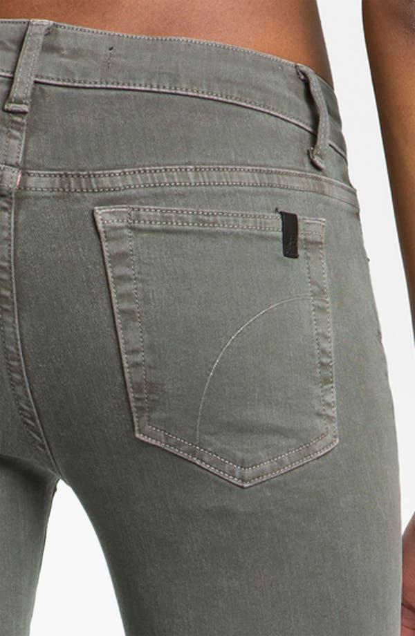 Alternate Image 3  - Joe's Skinny Stretch Denim Jeans (Bay Leaf)