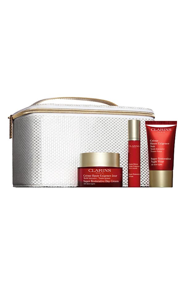 Alternate Image 1 Selected - Clarins 'Super Restorative' Collection ($195 Value)