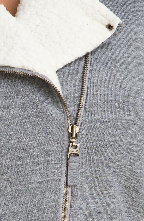 Alternate Image 3  - Splendid Lined Moto Jacket (Plus)