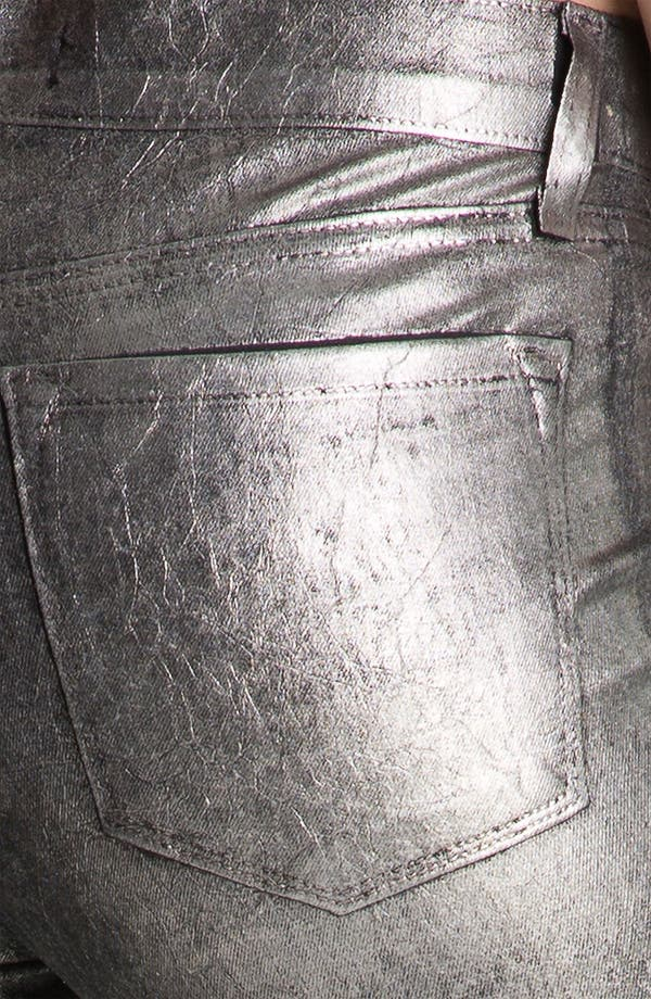 Alternate Image 3  - J Brand Metallic Stretch Denim Leggings