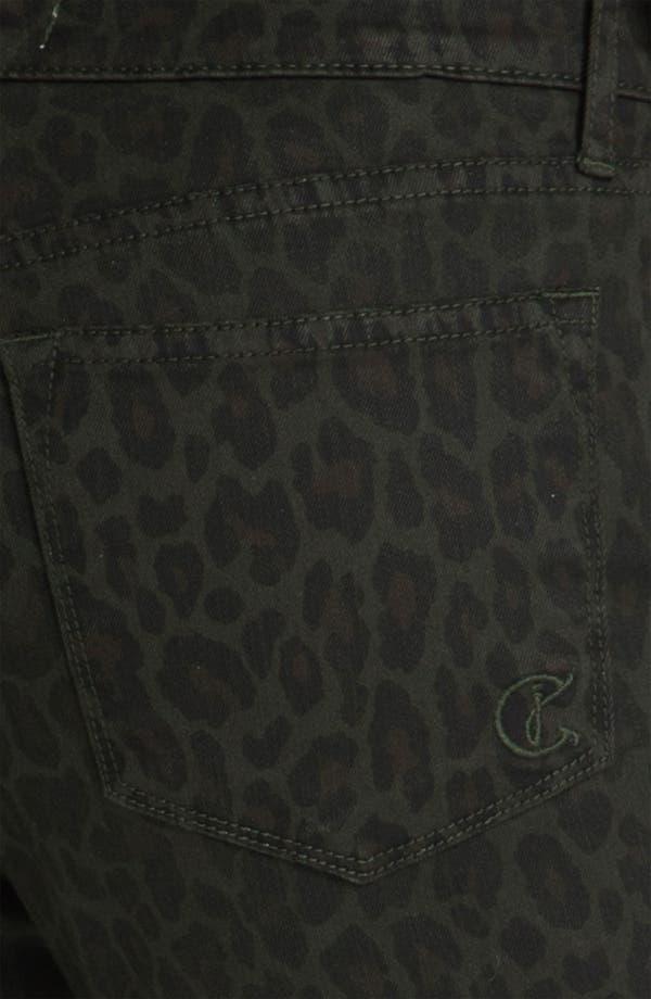 Alternate Image 3  - CJ by Cookie Johnson 'Joy' Animal Print Stretch Skinny Jeans