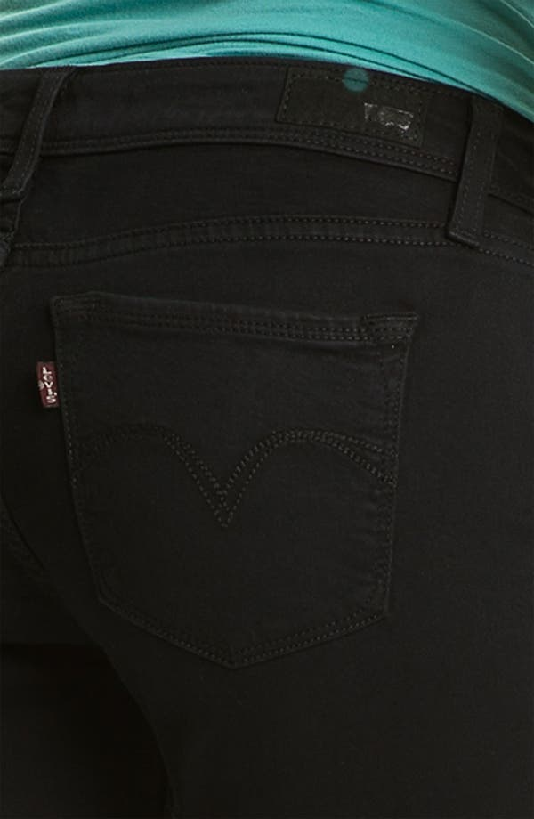 Alternate Image 3  - Levi's® Skinny Jeans (Wax Rinse Sateen)