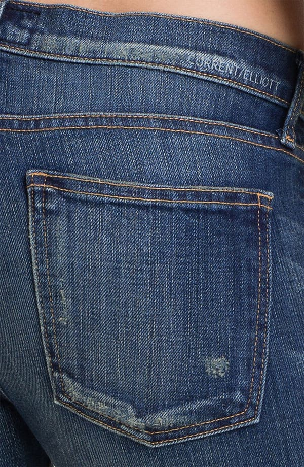 Alternate Image 3  - Current/Elliott 'The Rolled' Stretch Jeans (Wager)