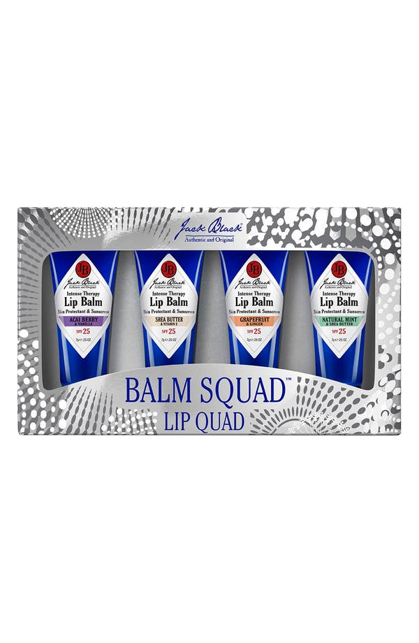 Main Image - Jack Black 'Balm Squad' Lip Quad ($30 Value)